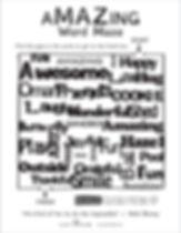 Readers' Fun Sheet