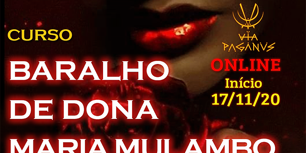 Curso Online - Baralho de Dona Maria MULAMBO