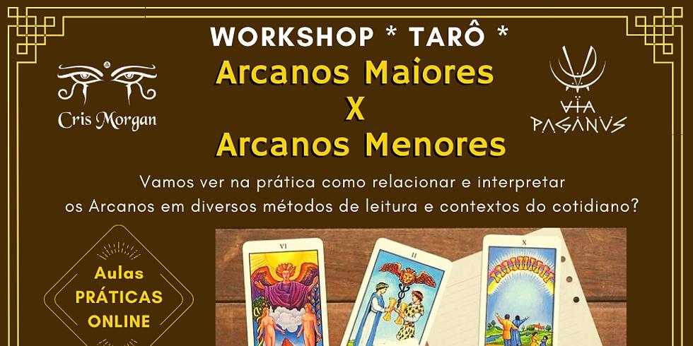 Workshop Online: TARÔ - Arcanos Maiores X Arcanos Menores