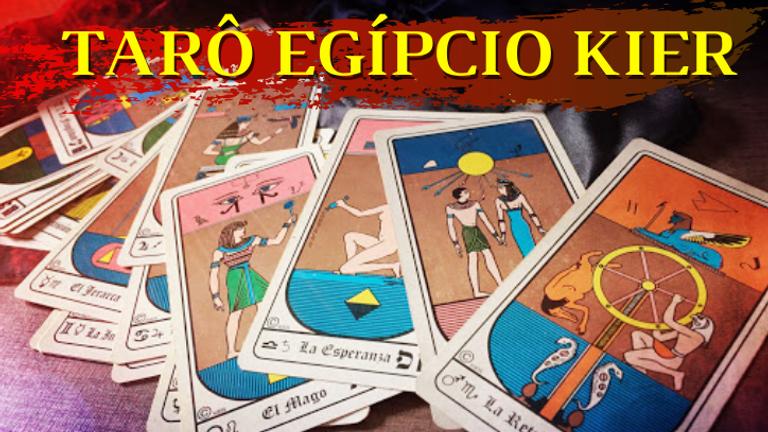 Curso Online: TARÔ EGÍPCIO KIER