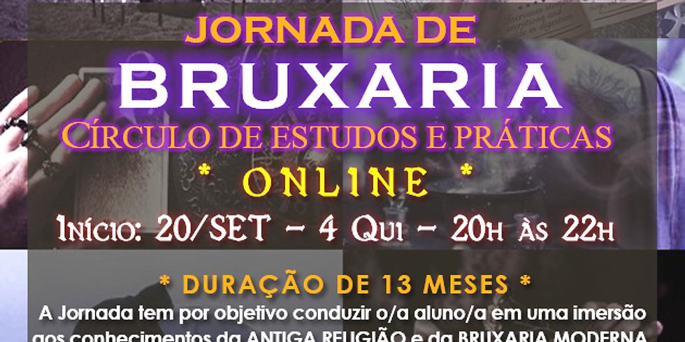 Curso Online - Jornada de BRUXARIA