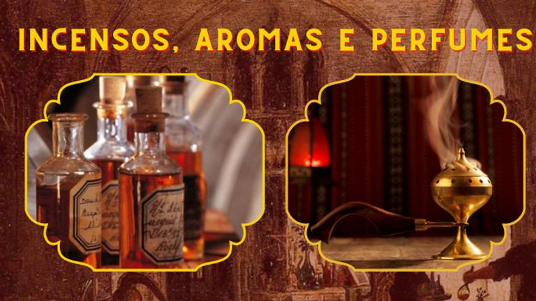 Curso Online: Magia de Incensos, Aromas e Perfumes