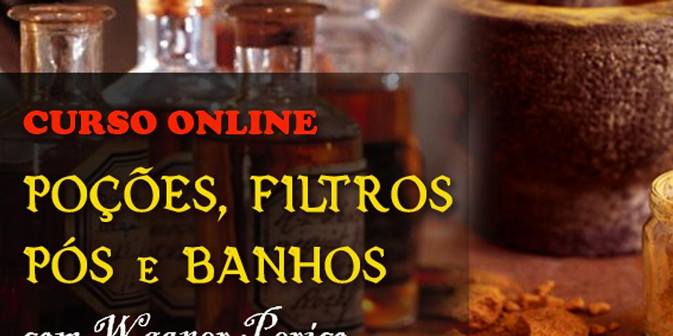 Curso Online: Magia de Poções, Filtros, Pós e Banhos