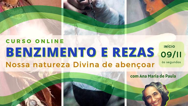 Curso Online: BENZIMENTOS e REZAS
