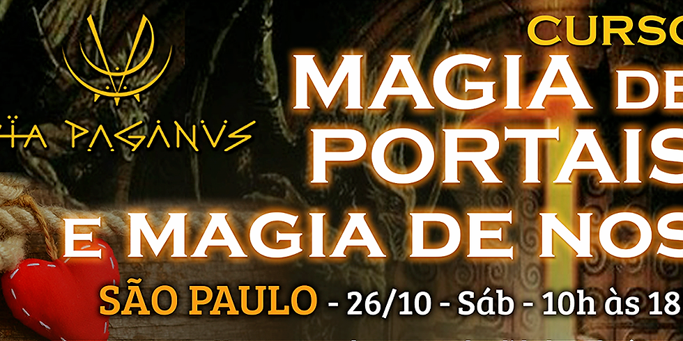 Curso SP: MAGIA  de PORTAIS e de NOS.