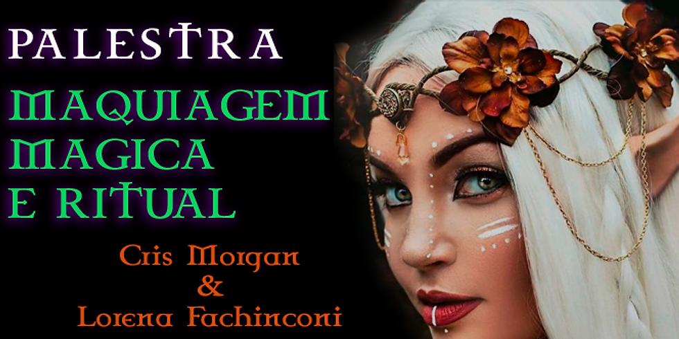 Palestra SP: Maquiagem Mágica e Ritual - Gratuita (1)
