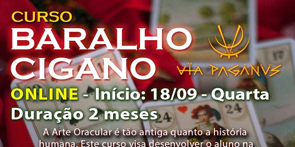 Curso Online - BARALHO CIGANO ou Petit Lenormand