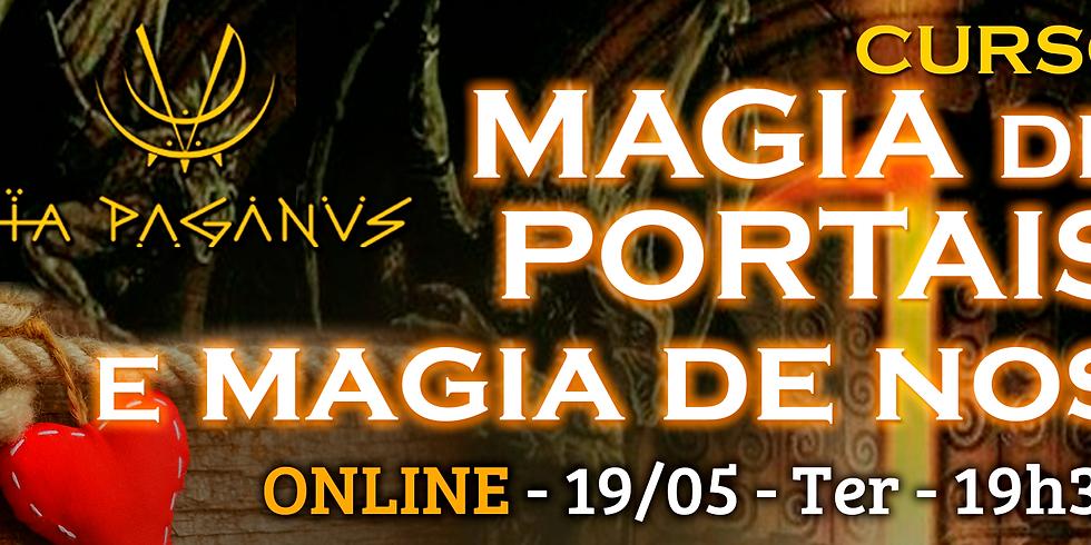 Curso Online: MAGIA  de PORTAIS e de NOS