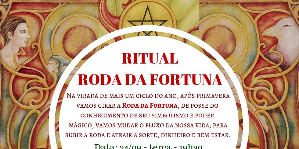 Ritual: RODA DA FORTUNA - movimentando o fluxo de prosperidade