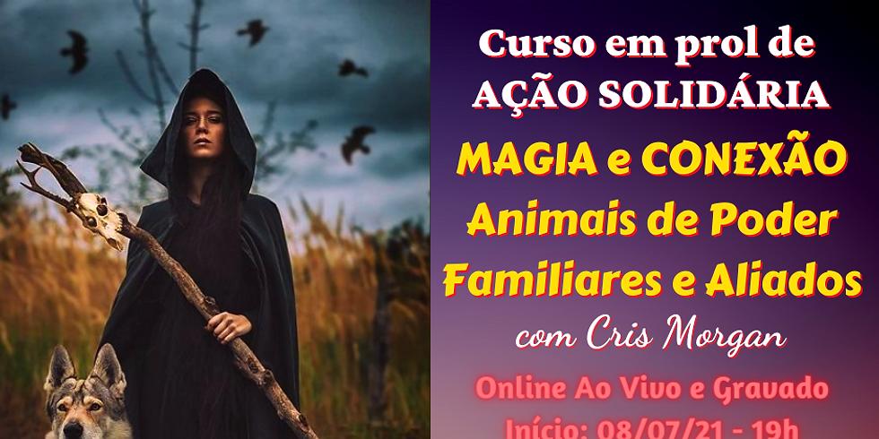Curso Online: MAGIA com ANIMAIS DE PODER, FAMILIARES E ALIADOS