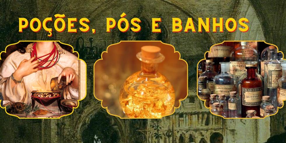 Curso Online: Magia de Poções, Pós e Banhos