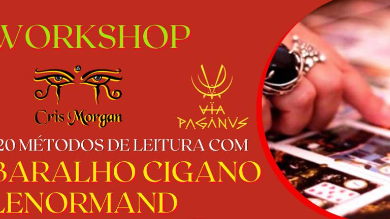 Workshop Online: Práticas e Métodos de Leitura do BARALHO CIGANO ou LENORMAND