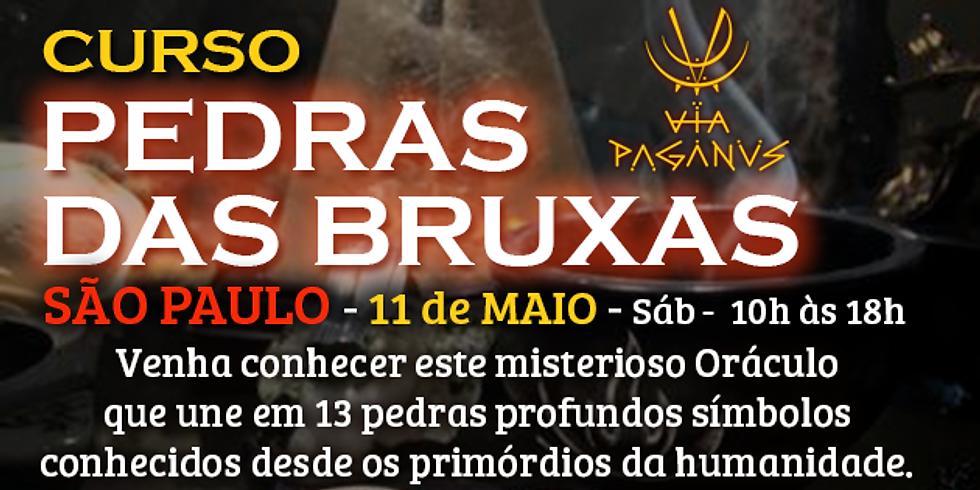 Curso em SP - PEDRAS DAS BRUXAS