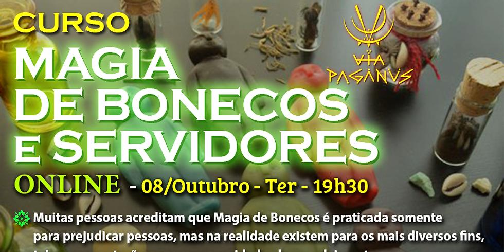 Curso Online: Magia de BONECOS e SERVIDORES ASTRAIS