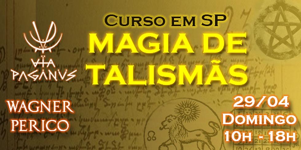 Curso em SP: MAGIA DE TALISMÃS