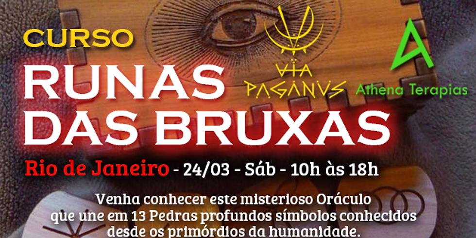 Curso no RJ - RUNAS DAS BRUXAS
