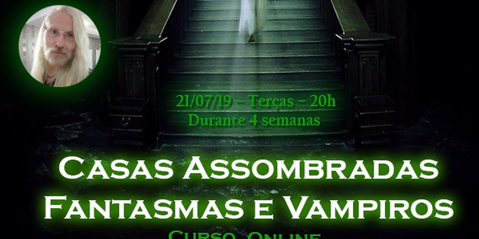 Curso Online: Casas Assombradas, Fantasmas e Vampiros