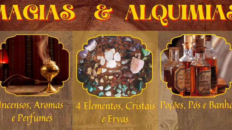 PACOTE 3 Cursos: MAGIAS & ALQUIMIAS
