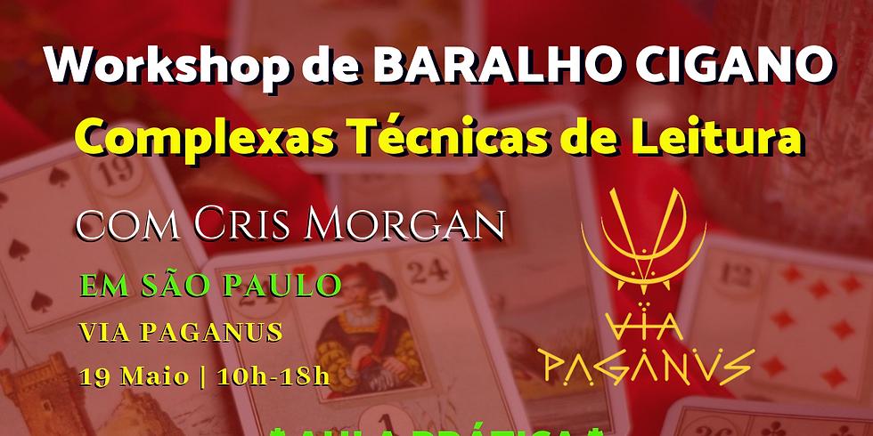 Workshop em SP - Métodos de Leituras de BARALHO CIGANO