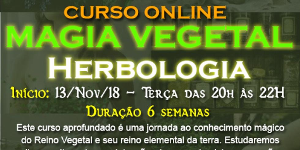 Curso Online: MAGIA VERDE - Herbologia e Magia do Reino Vegetal