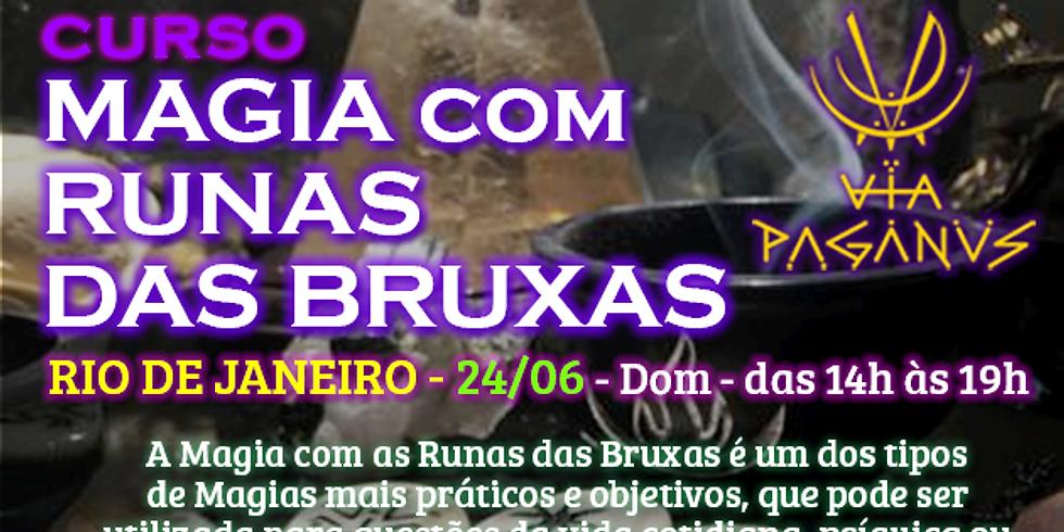 Curso no RJ - MAGIA com RUNAS DAS BRUXAS