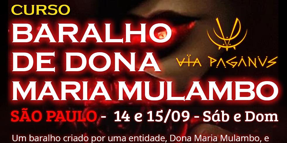 Curso SP - Baralho de Dona Maria MULAMBO