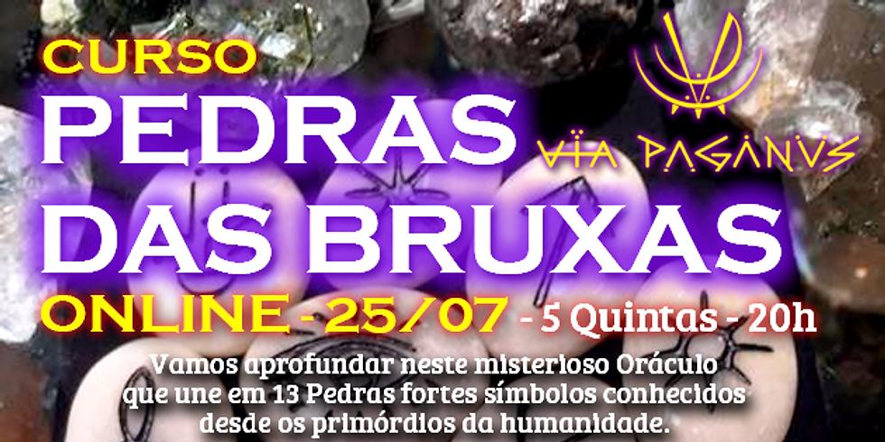 Curso Online - PEDRAS DAS BRUXAS