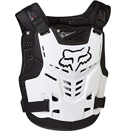 FOX Pro frame LC chest Guard White S/M