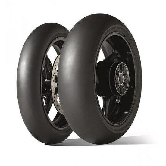 Dunlop slick set Front 120/70/17 Rear 190/55/17
