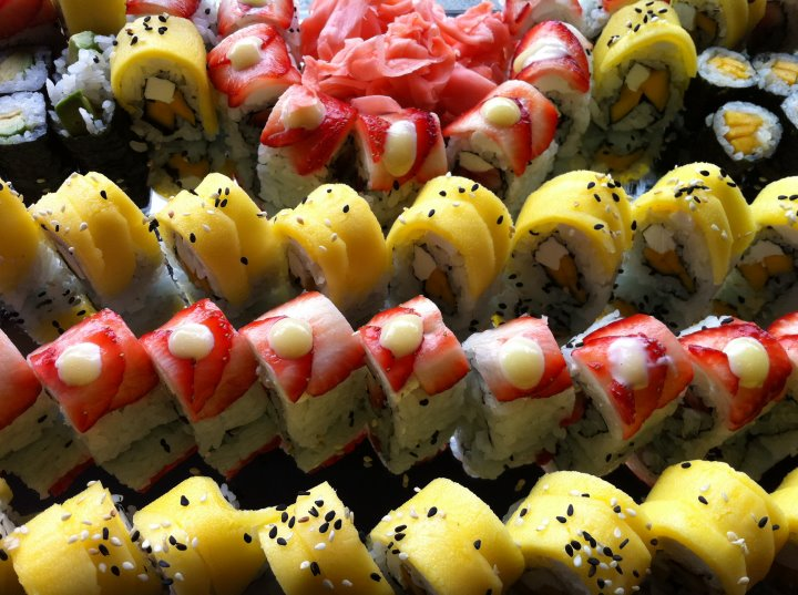 Fruit Sushi