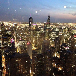 View from John Hancok 94th floor