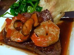 Asian Steak & Shrimp