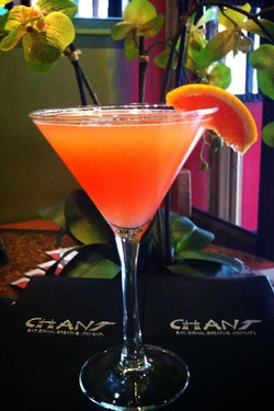 #Orange martini