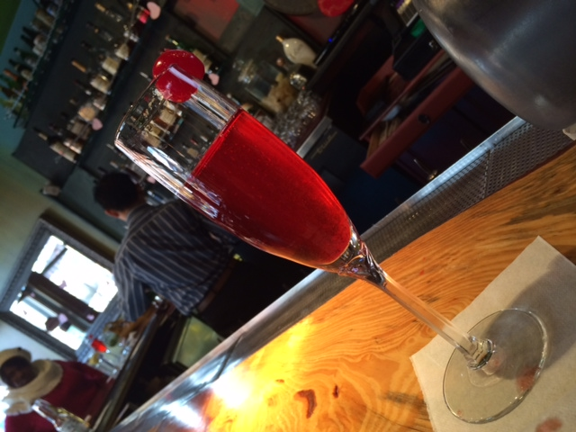 Raspberry Bellini