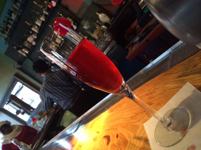 Raspberry Bellini
