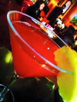 Sour Raspberry Martini
