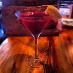 #Pomegranate Martini