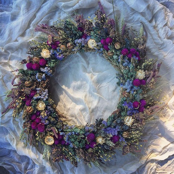 We donated this lovely wreath for Equali