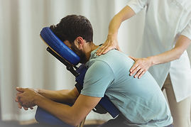 Clothed chair massage
