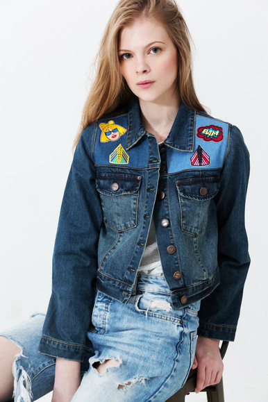 Patches Personalisation on Denim