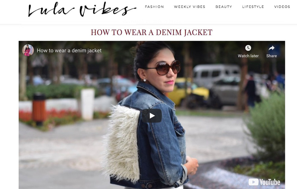 Lula Vibes Blogger