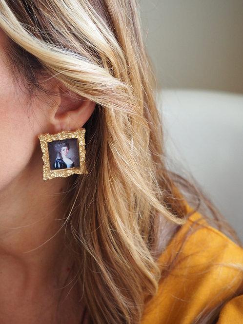 Vintage style Marquesa Earrings