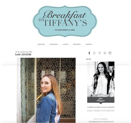 Breakfast at Tiffanys Blog