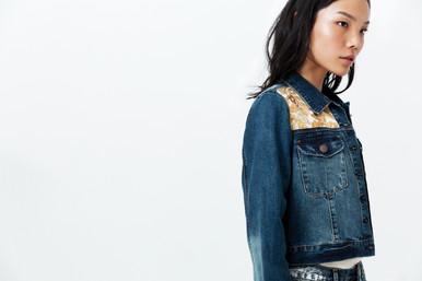Jacquard Fabric Personalisation on Denim