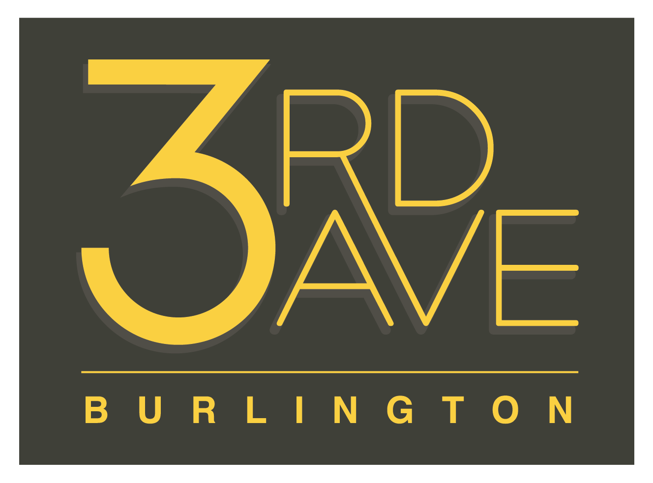 3rd Ave Burlington Logo