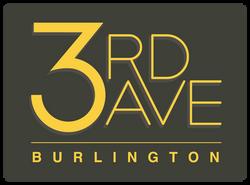 3rd Ave Burlington Logo