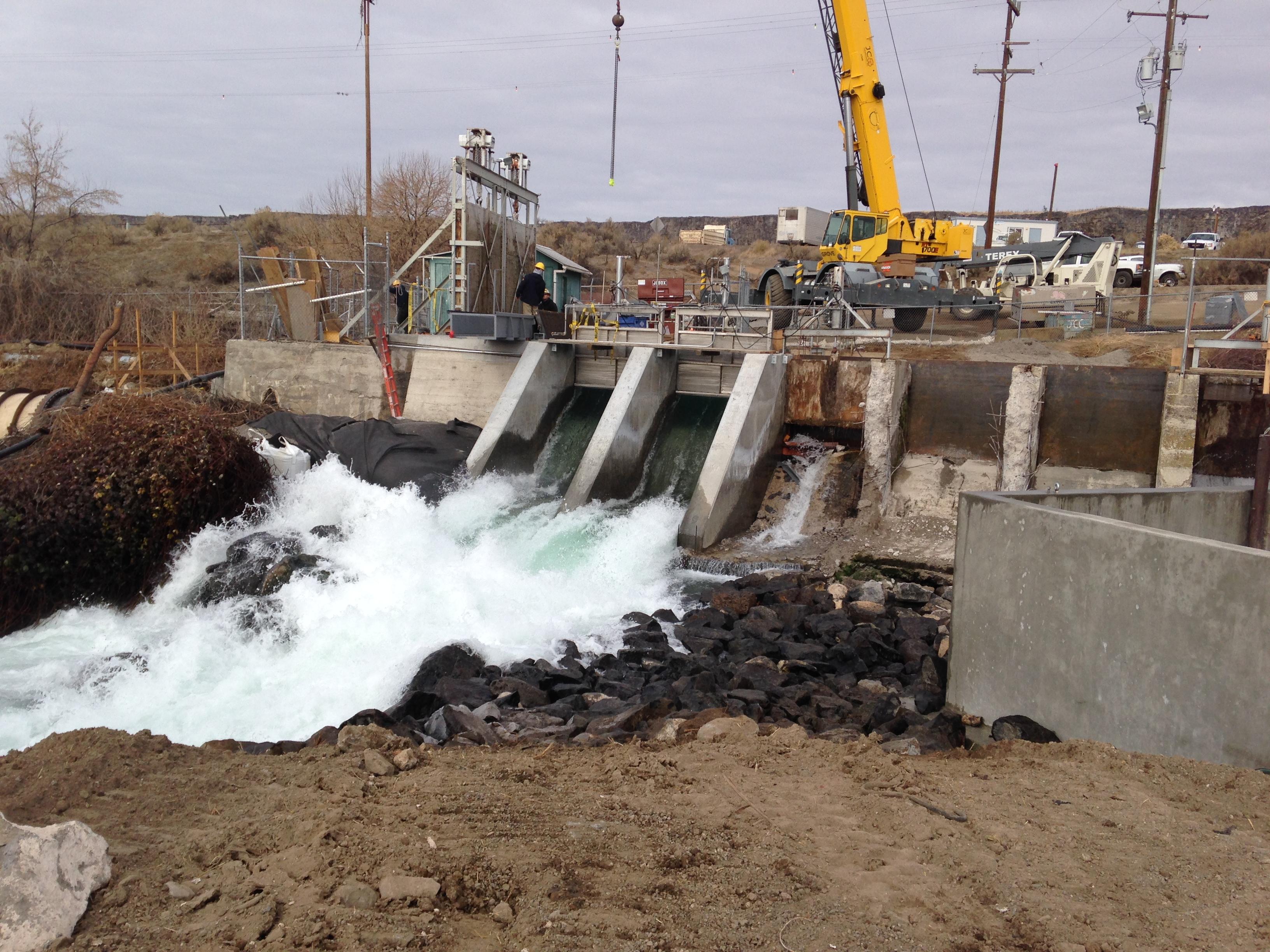 Clear Lakes Dam Refurbishing