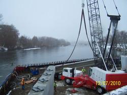 Placing Bridge Girders