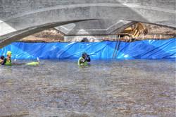 JCC Divers in Boise River