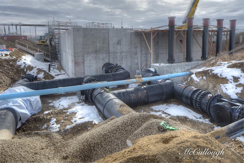 "36"" HDPE Pipe Manifold"